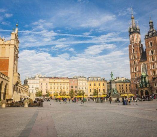 Place centrale de Cracovie