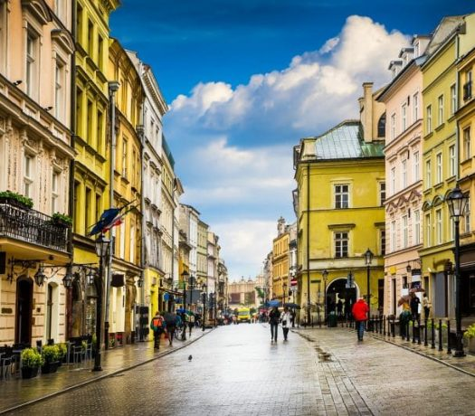 Centre historique Cracovie