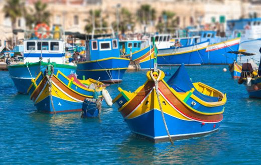 Le village de pêcheurs de Marsaxlokk
