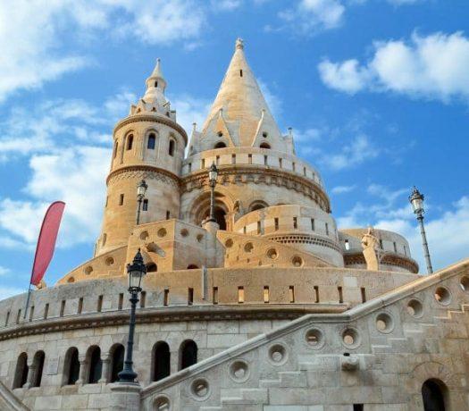 Bastion à Budapest en Hongrie