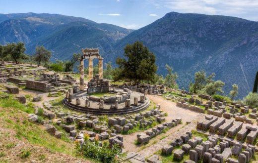 Le sanctuaire et le musée de Delphes