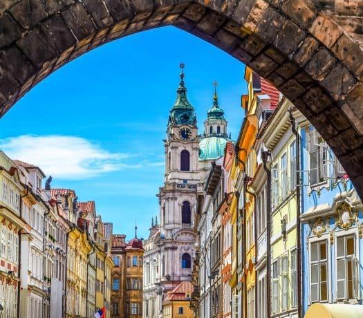 La ville de Prague en République Tchèque