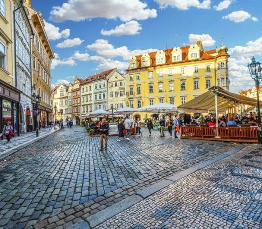 Place à Prague