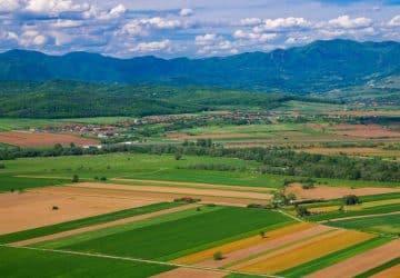 Agriculture dans les plaines du Danube et en Transylvanie