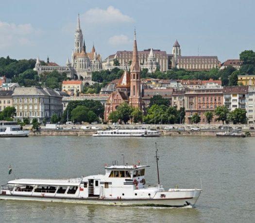 Le quartir du Château à Budapest en Hongrie