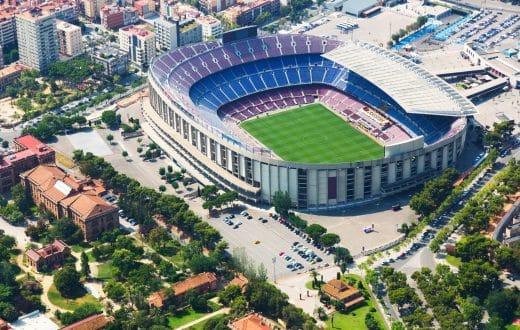 Camp Nou (le stade du FC Barcelone)