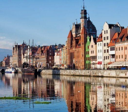 Centre historique de Gdansk en Pologne