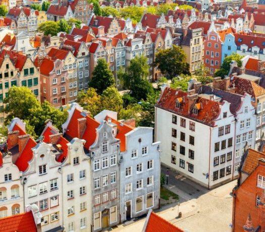 Egrlise Sainte Marie Gdansk Pologne