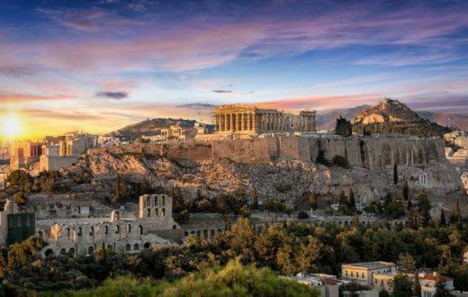 L'Acropole et le Nouveau Musée de l'Acropole