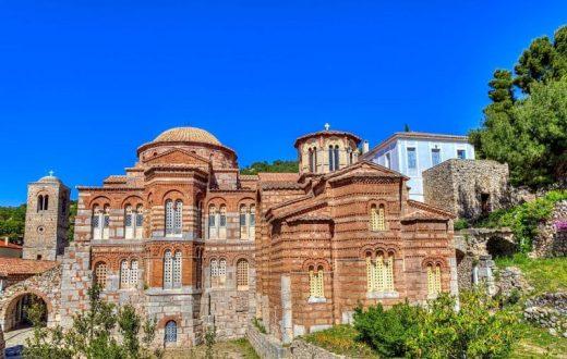 Le monastère byzantin d'Osios Loukas