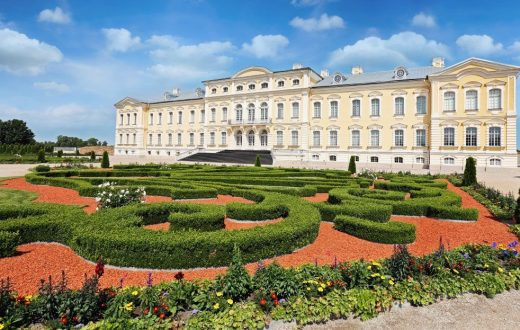 Le palais Rundale