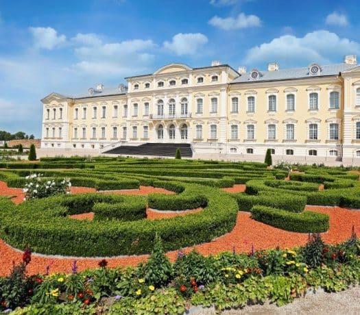 Palais de Rundale Lettonie