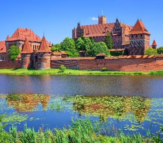 Château de Malbork, gdansk, pologne