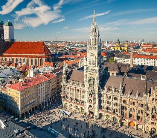Munchen Marienplatz Frauenkirche Allemagne