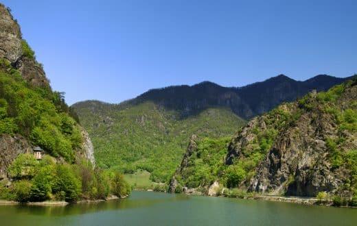 La vallée de l'Olt