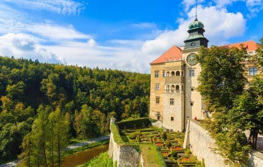 Le Parc National d'Ojcow et le château Pieskowa Skala