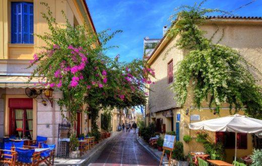 Athènes à pied