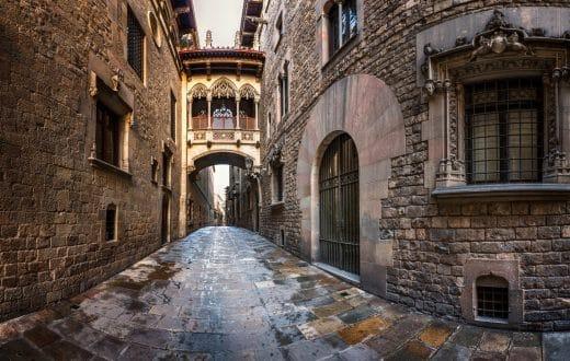 Le quartier gothique de Barcelone