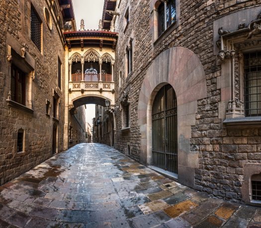 Quartier gothique - Barcelone - Espagne
