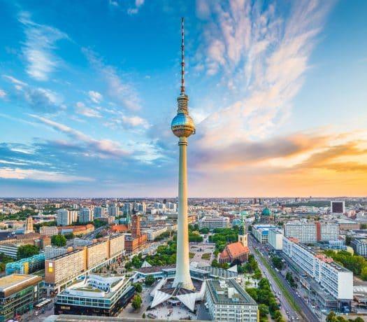 Tour TV Alexanderplatz Berlin Allemagne