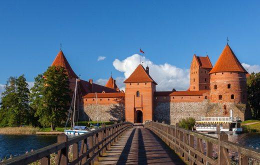 La ville et le château de Trakai