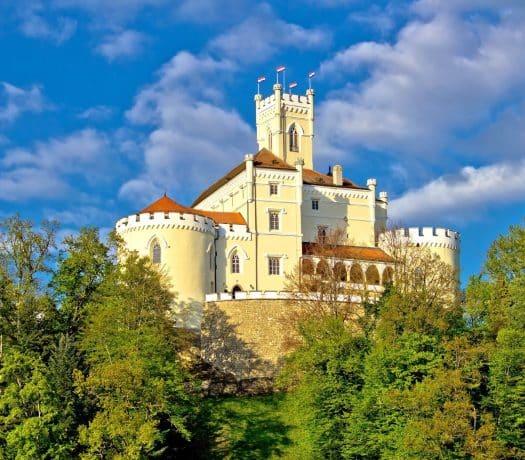 Forêt et Chateau de Trakoscan