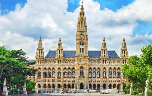 Le centre-ville de Vienne