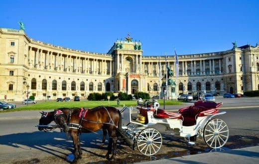 Le Palais impérial de Vienne