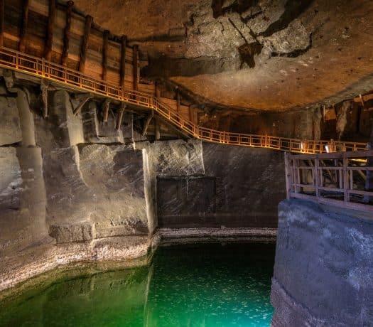 Mine de sel de Wieliczka à cracovie