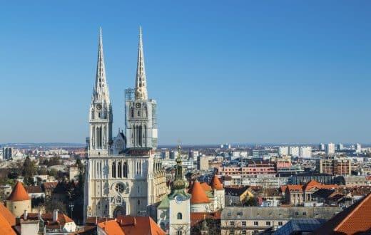 La ville de Zagreb
