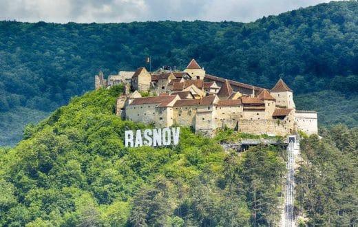 La citadelle de Rasnov
