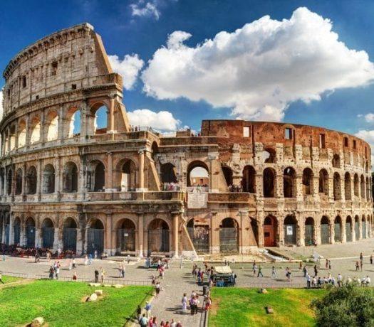 Le Colisée de Rome, l'une des merveilles d'Italie