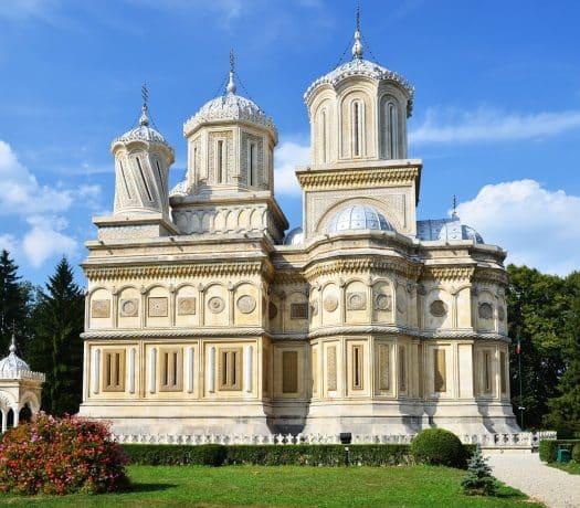 Le Monastère de Curtea de Arges, en Roumanie