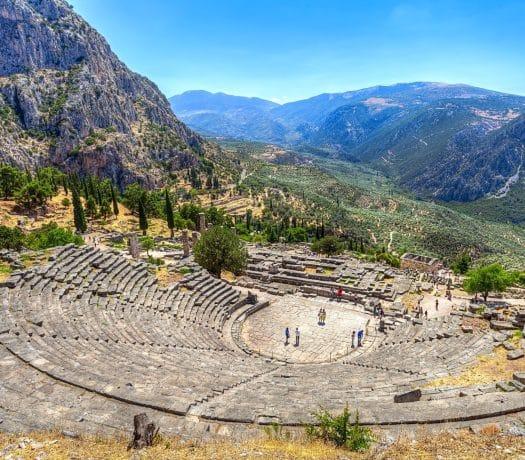 Delphes Grèce