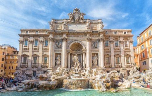 Les monuments de la Rome baroque