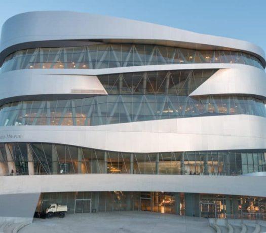 Le musée Mercedes-Benz à Stuttgart