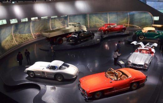 Le musée de Mercedes Benz