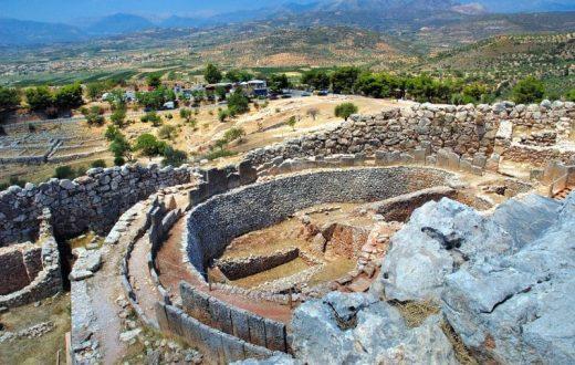 Le site archéologique et le musée de Mycènes