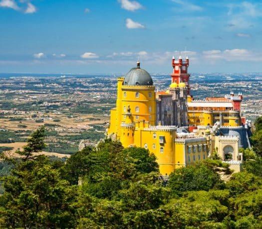 Palais de Pena, à Sintra (Portugal)