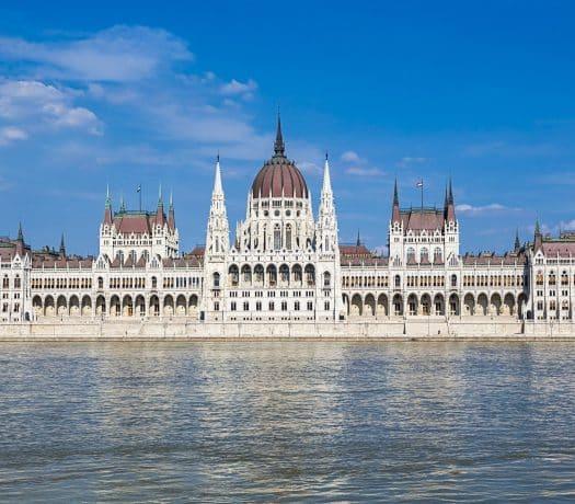 Le Parlement hongrois de Budapest