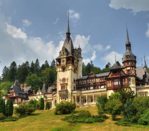 Le Château Peles à Sinaia, en Roumanie
