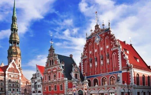 La ville de Riga