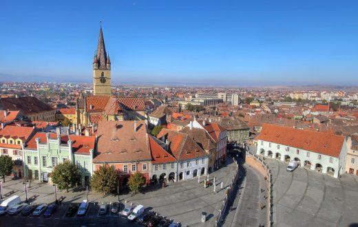 La ville de Sibiu