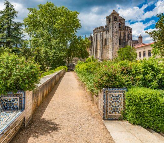 Ville fortifiée de Tomar au Portugal