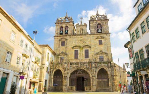 La ville de Braga et sa cathédrale