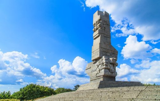 La Westerplatte (Pologne)