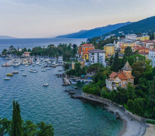 Opatija ville en Croatie