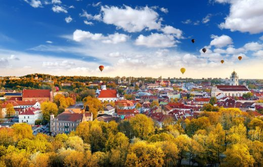 La ville de Vilnius
