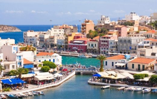 La ville d'Agios Nikolaos