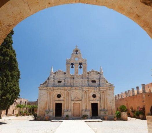 Le monastère d'Arkadi Crète